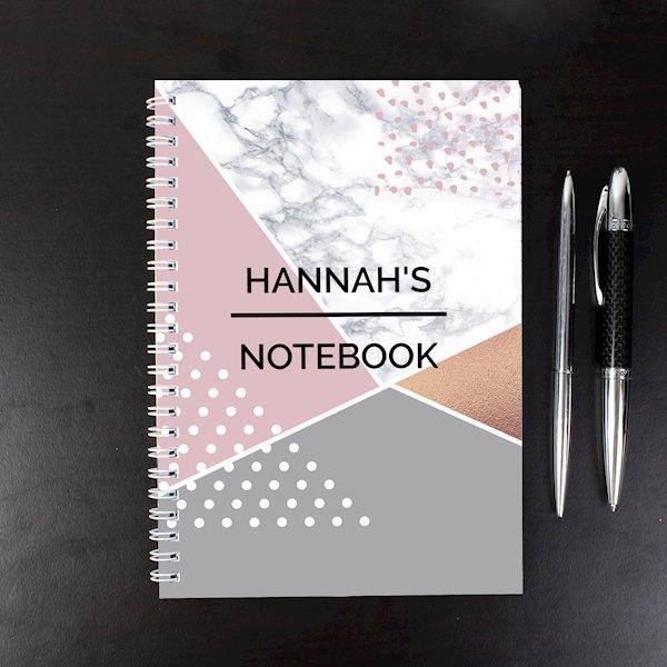 Geometric A5 Notebook