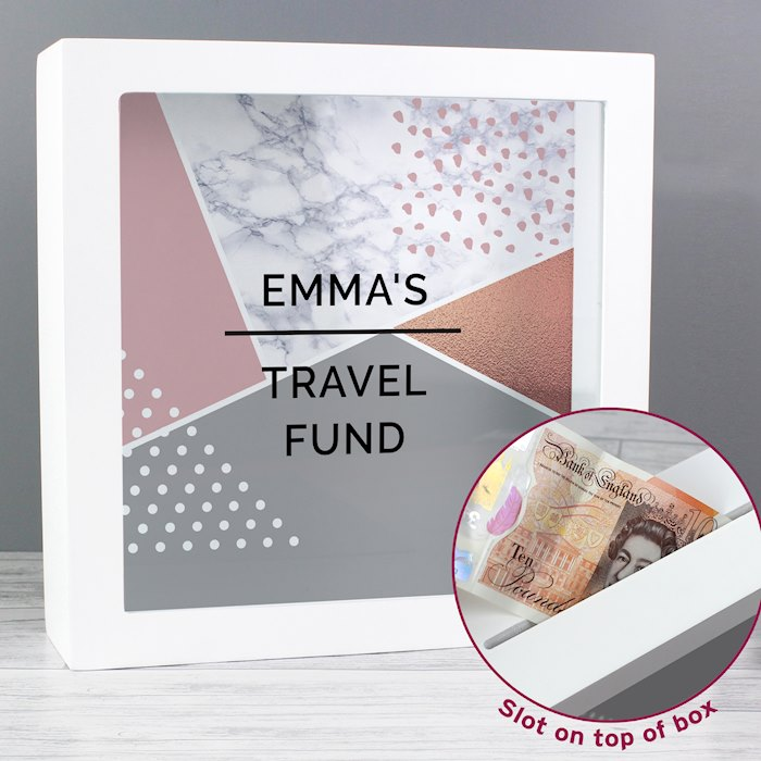 Geometric Fund and Keepsake Box