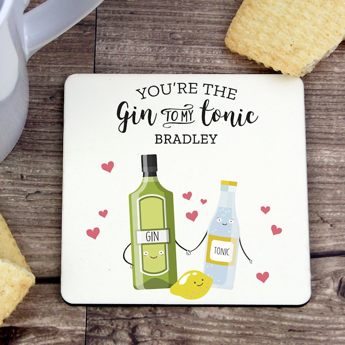 'Gin to My Tonic' Coaster