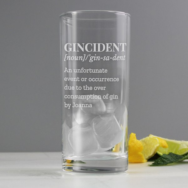 Gincident Hi Ball Glass