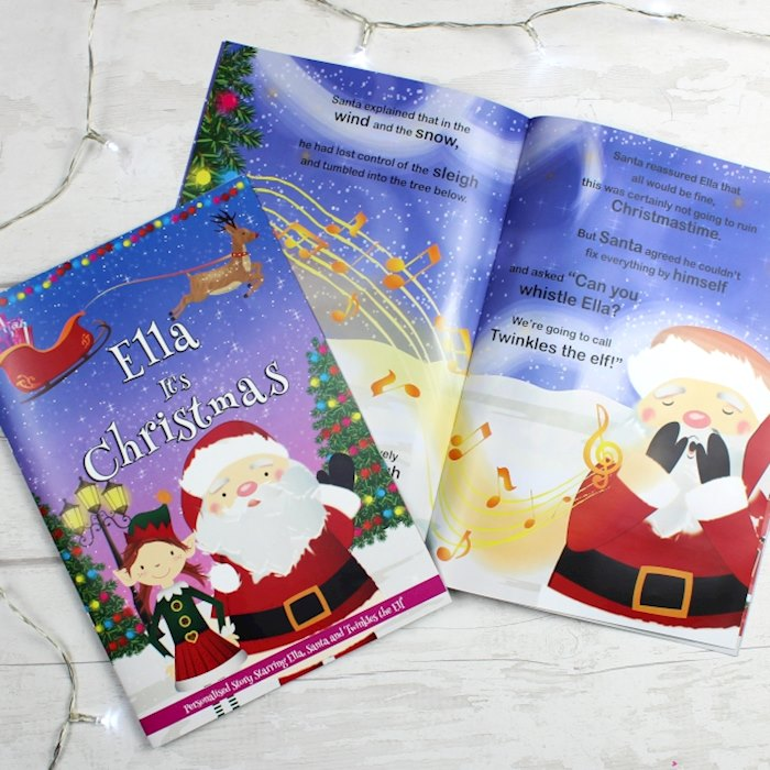 The Christmas Story Book.Girls It S Christmas Story Book Featuring Santa And His Elf Twinkles