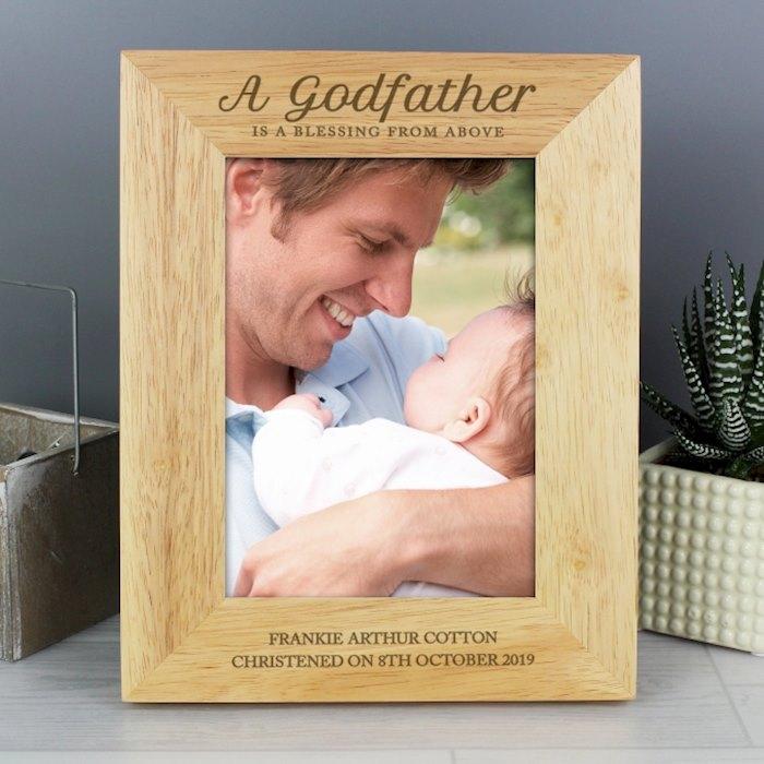Godfather Wooden 5x7 Photo Frame