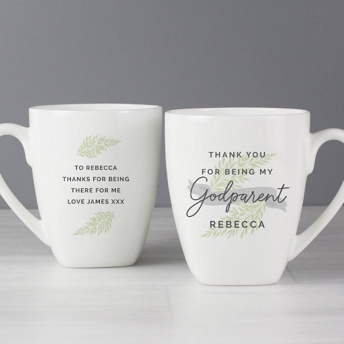 Godparent Latte Mug