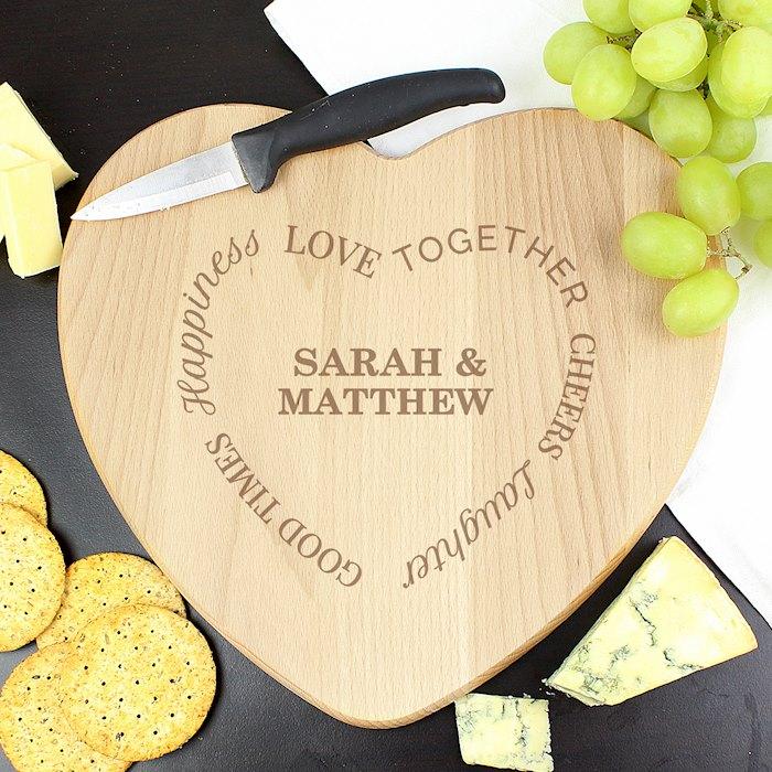 Good Times Heart Chopping Board