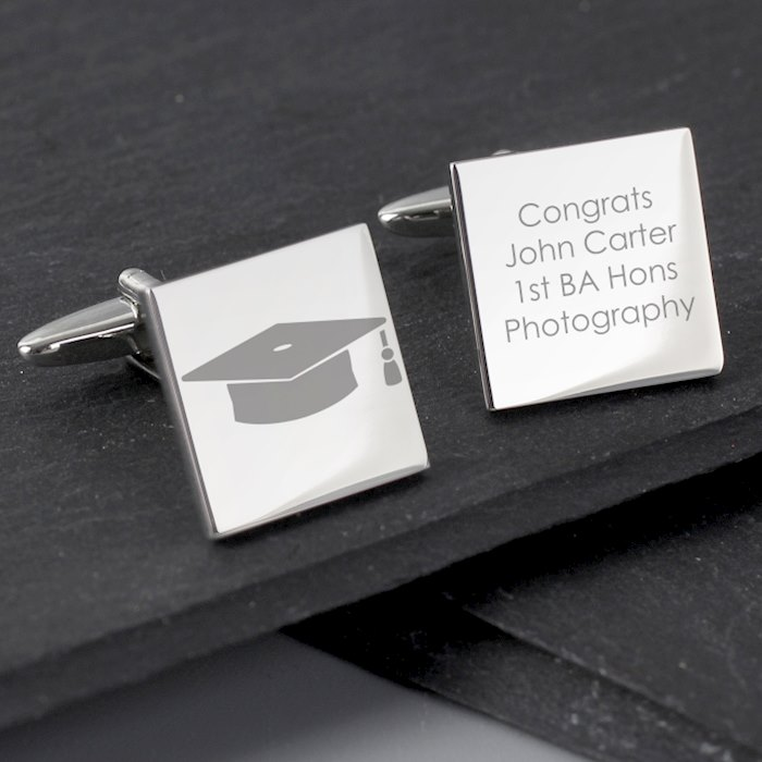 Graduation Square Cufflinks