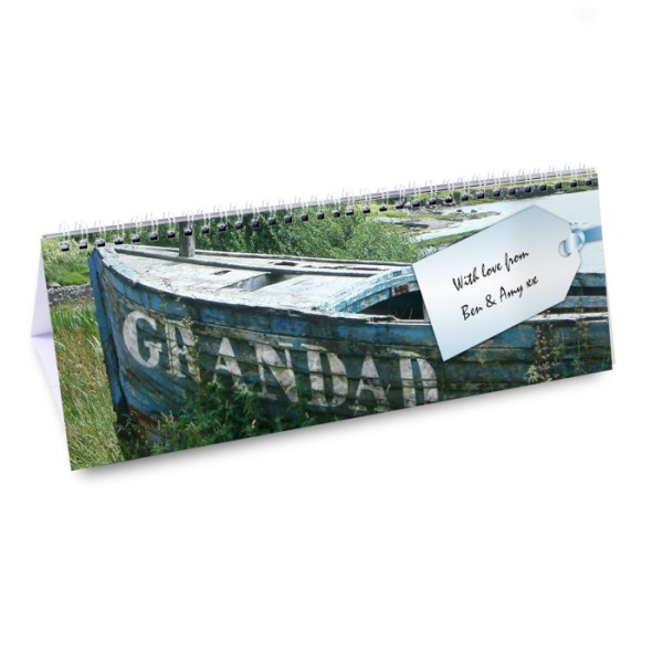 Personalised Grandad Desk Calendar
