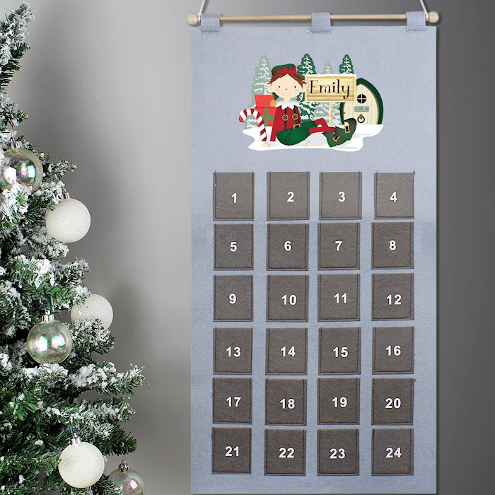 Grey Elf Advent Calendar