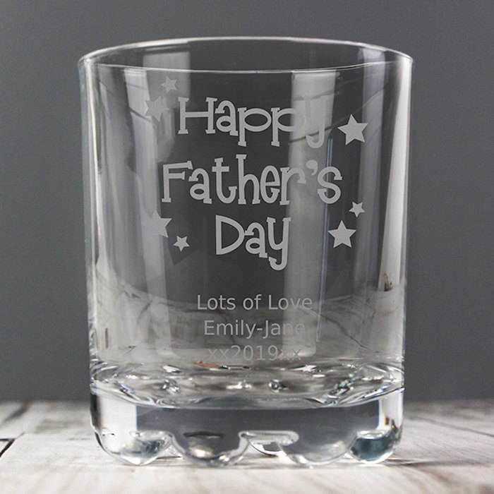 Happy Father's Day Stars Tumbler