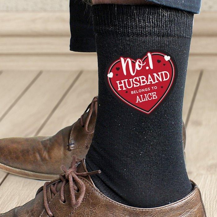 Hearts No.1 Men's Socks