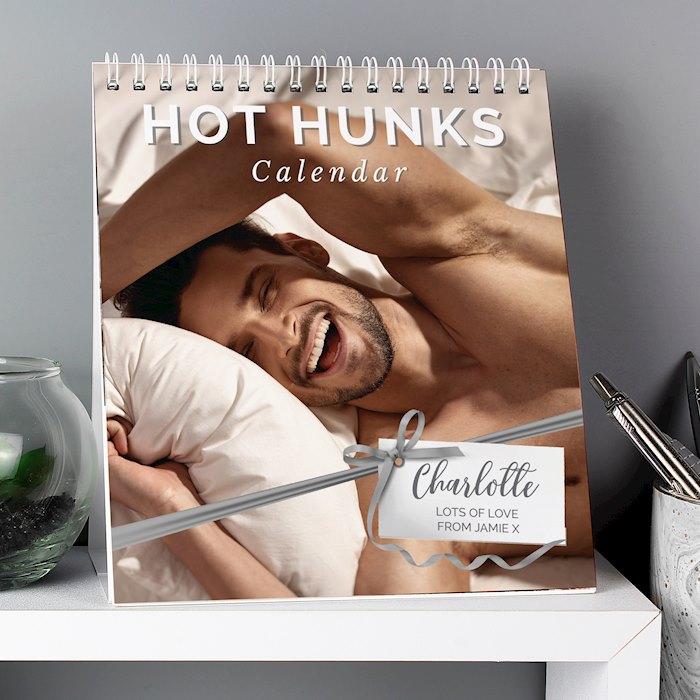 Hot Hunks Desk Calendar