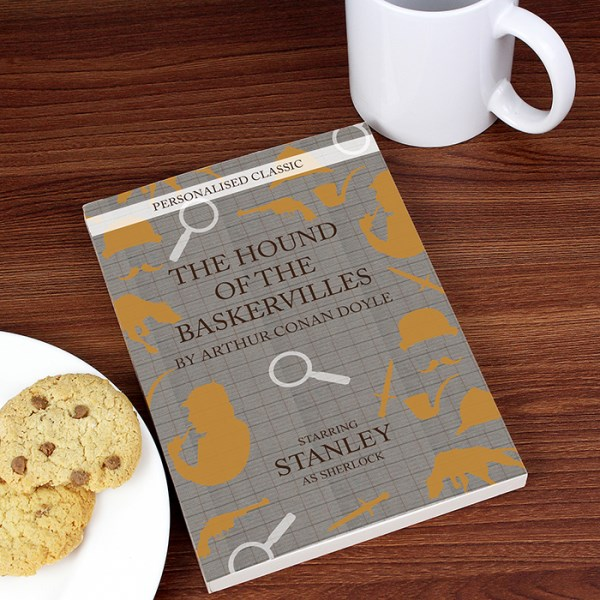 Personalised Hound of the Baskervilles Novel - 2 Characters