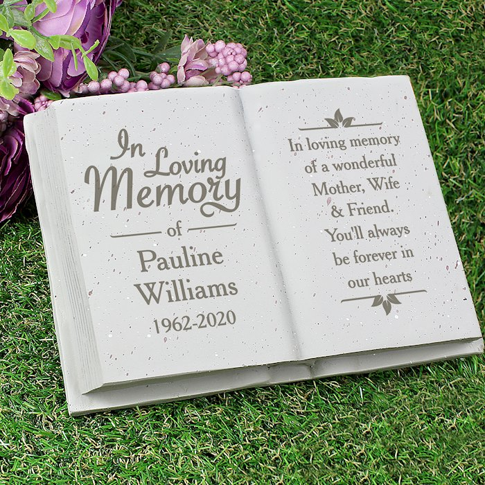 In Loving Memory Memorial Book