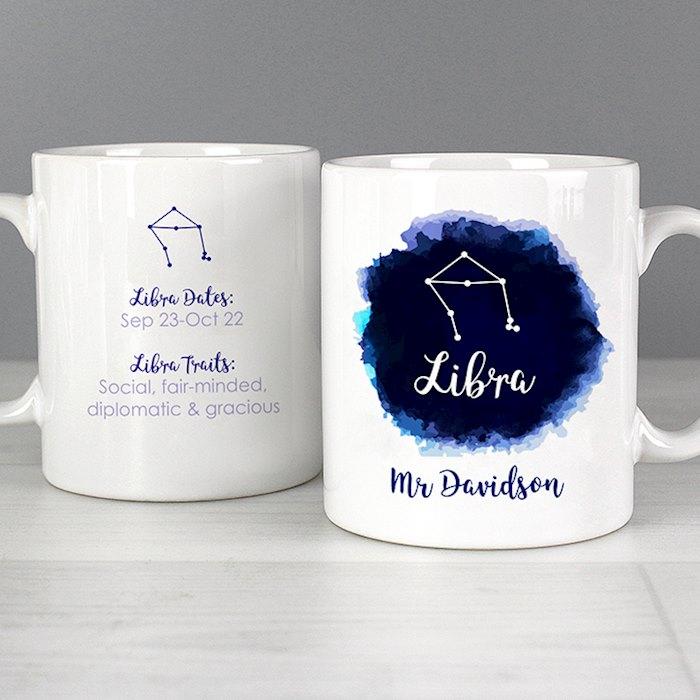 Libra Zodiac Star Sign Mug (September 23rd - October 22nd)