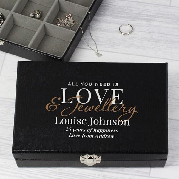 Love & Jewellery Organiser Box