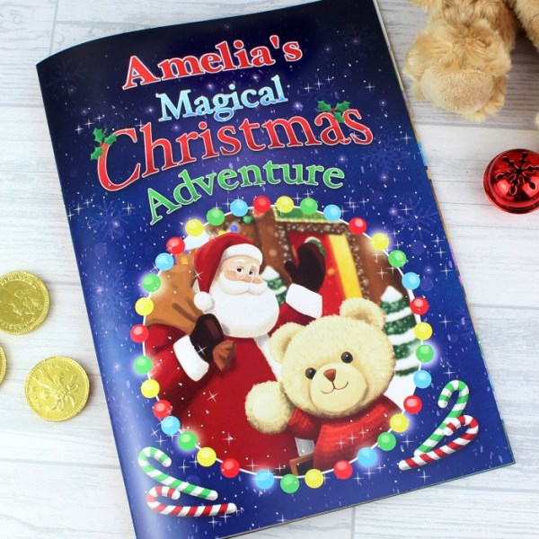 Magical Christmas Adventure Story Book
