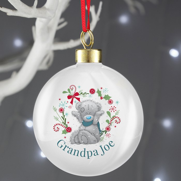 Me To You 'For Grandad, Dad' Christmas Bauble