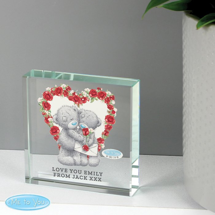 Me to You Valentine Large Crystal Token