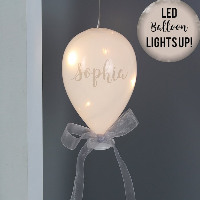 Message LED Glass Balloon