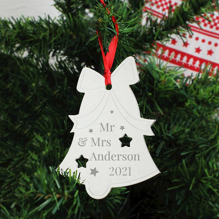 Mr & Mrs Bell Tree Decoration