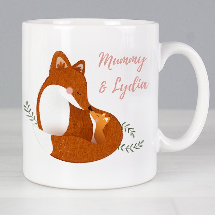 Mummy and Me Fox Mug