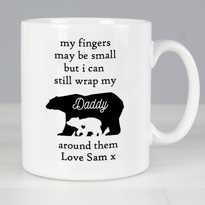 My Fingers May Be Small Bears Mug