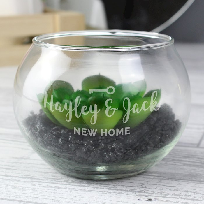 New Home Glass Terrarium