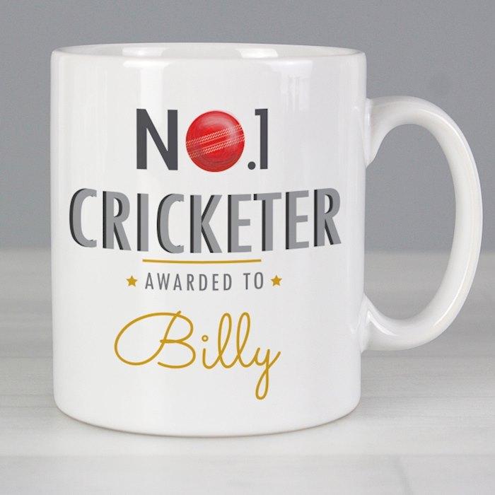 No.1 Cricketer Mug
