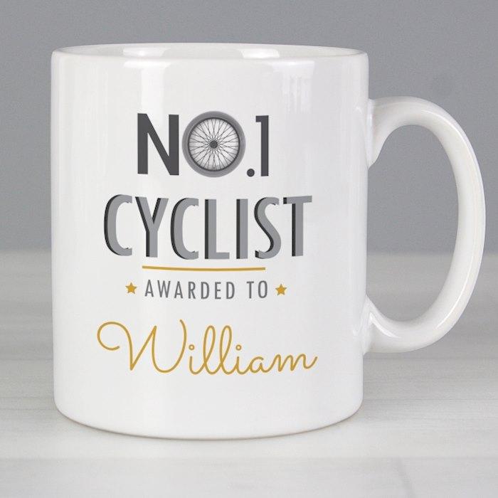 No.1 Cyclist Mug