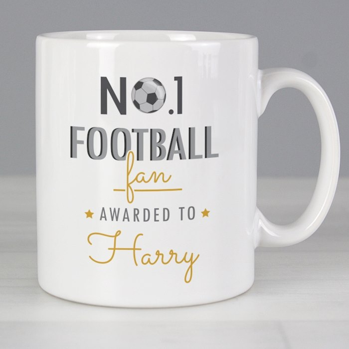 No.1 Football Fan Mug