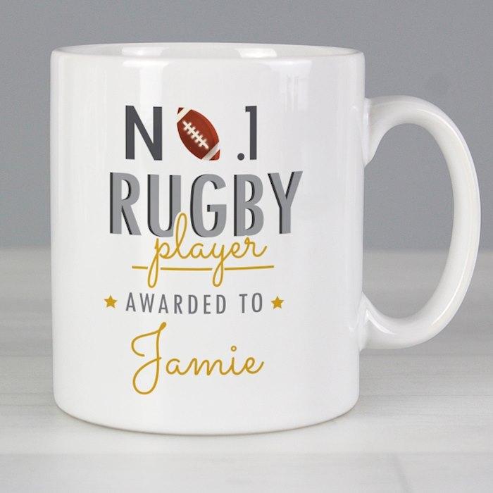 No.1 Rugby Player Mug