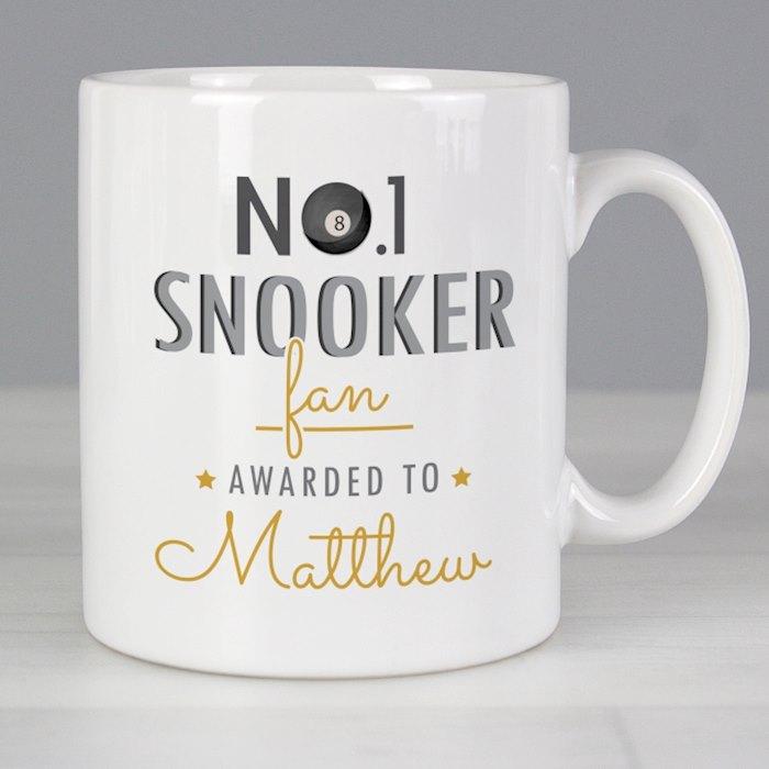 No.1 Snooker Fan Mug