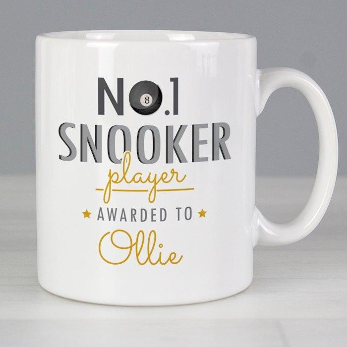 No.1 Snooker Player Mug