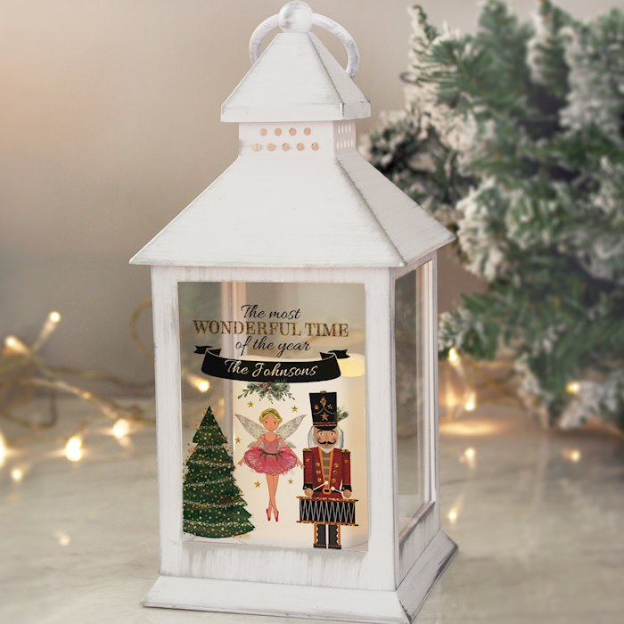 Nutcracker White Lantern