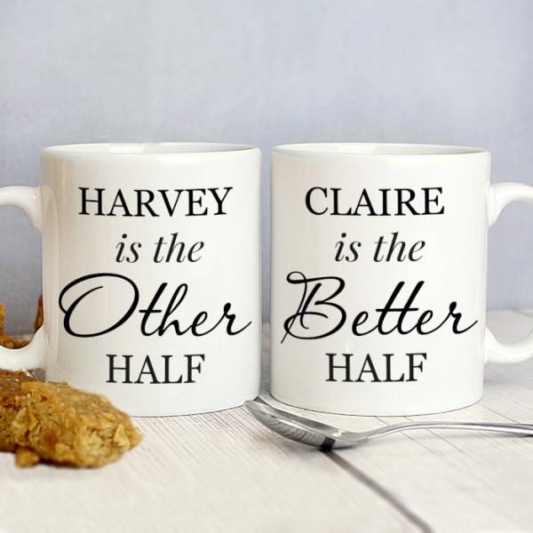 Other Half and Better Half Mug Set