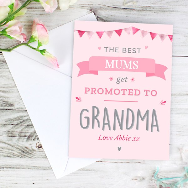 Pink Promoted to Card