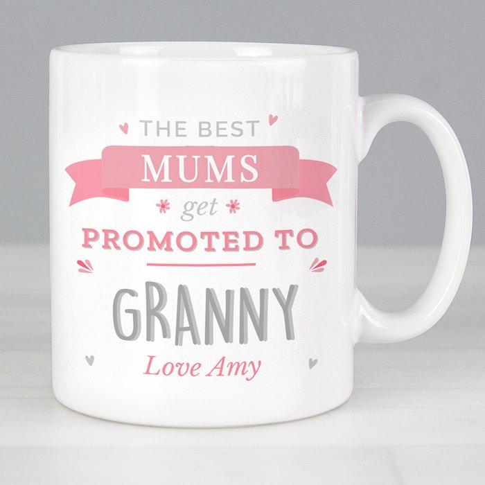 Pink Promoted To Mug