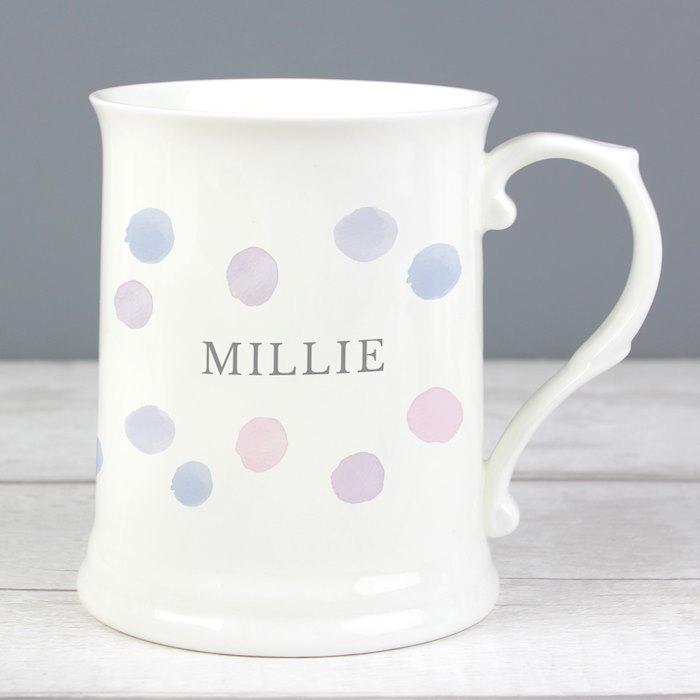 Pink Spot 15oz Mug