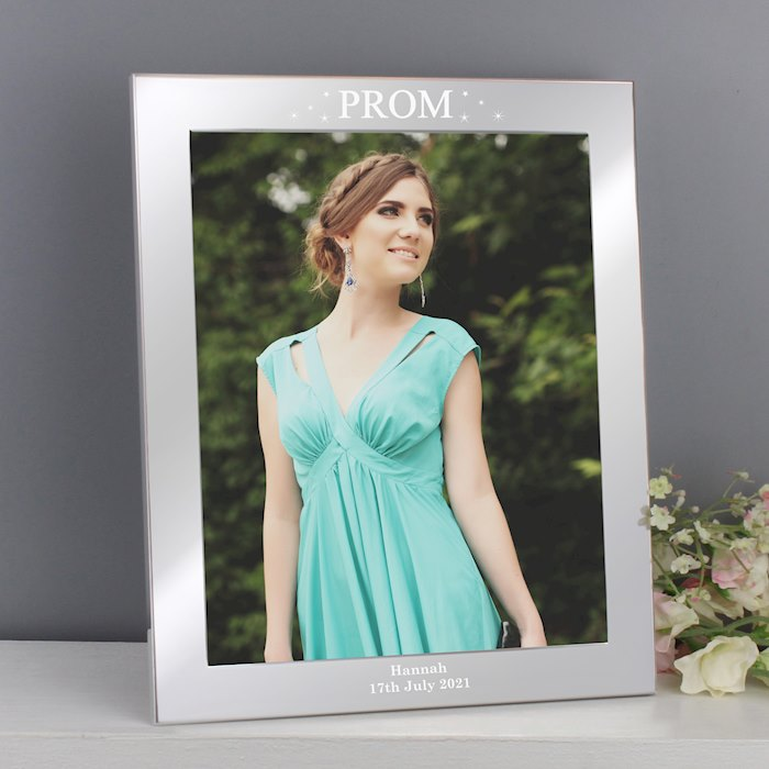 Prom Night Silver 8x10 Photo Frame
