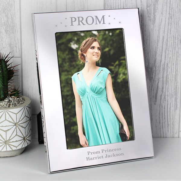 Prom Night Silver 4x6 Photo Frame