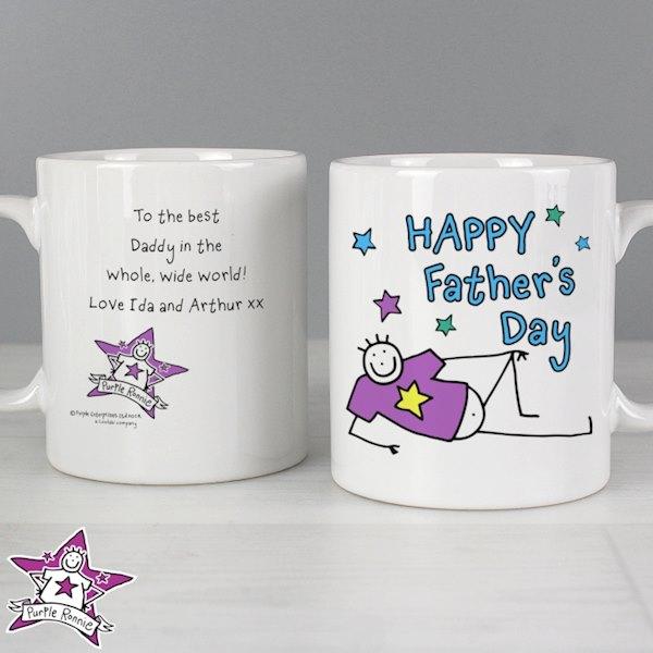 Purple Ronnie Father's Day Mug