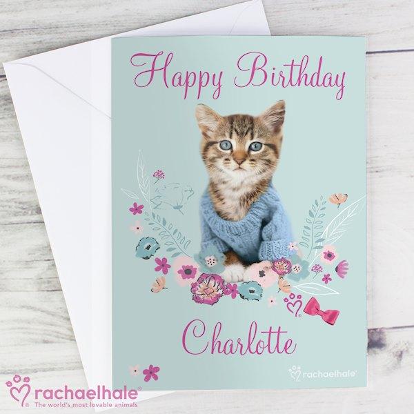 Rachael Hale Cute Kitten Card