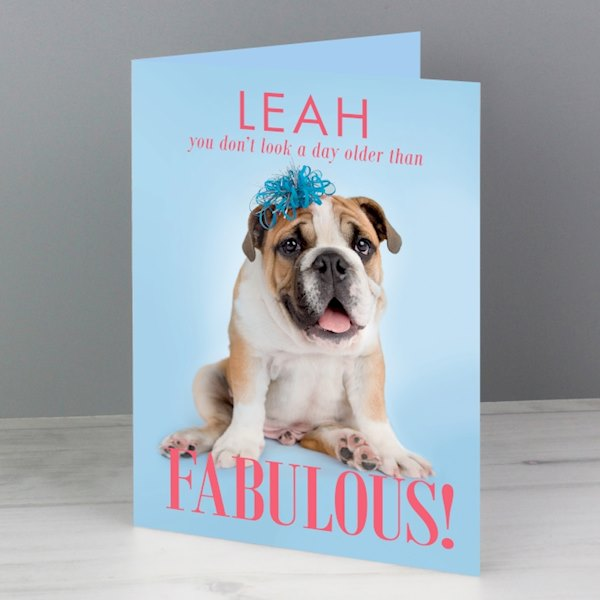 Rachael Hale Fabulous Birthday Card