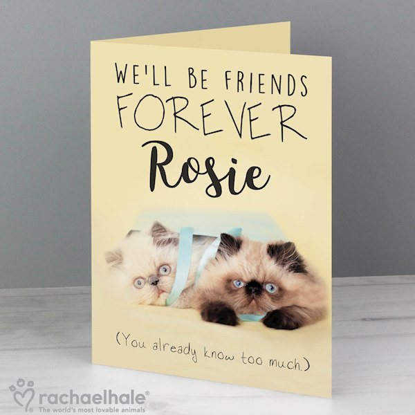 Rachael Hale Friends Forever Card
