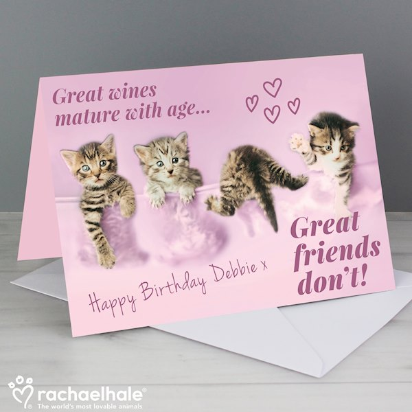 Rachael Hale 'Great Friends' Card