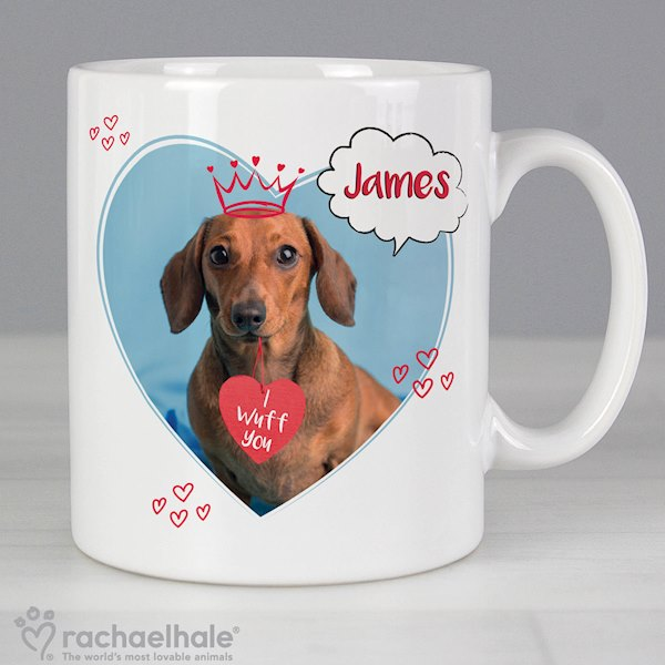 Rachael Hale 'I Wuff You' Mug