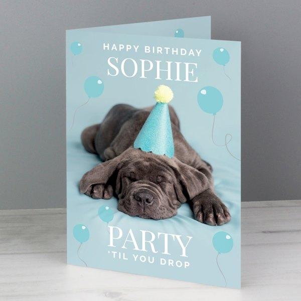 Rachael Hale 'Party 'Til You Drop' Card