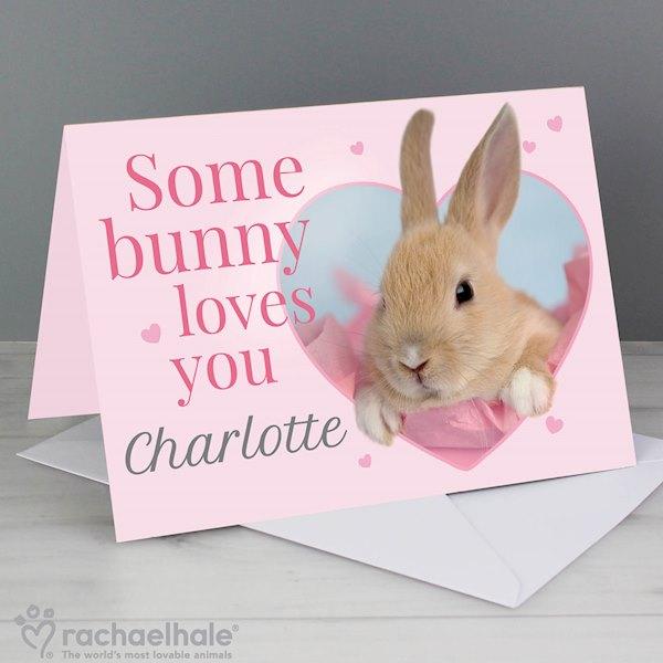 Rachael Hale 'Some Bunny' Card