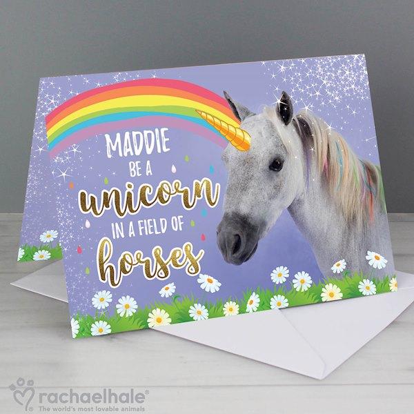 Rachael Hale Unicorn Card