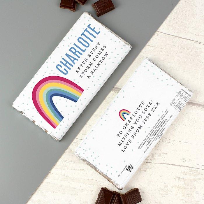 Rainbow Milk Chocolate Bar