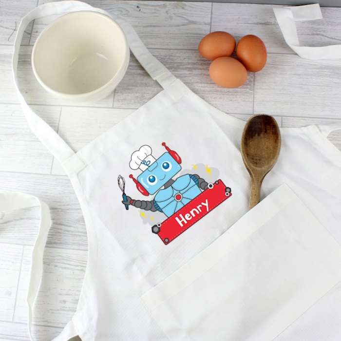 Robot Children's Apron
